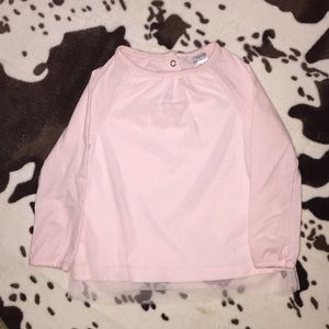 Carter's pink long sleeve 2T